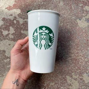 Starbucks Classic 12 oz Ceramic Tumbler Lid 2014